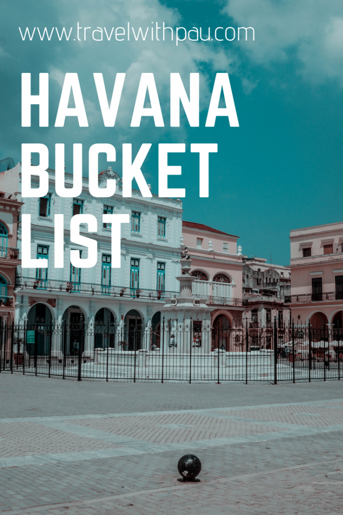 HAVANA BUCKET LIST