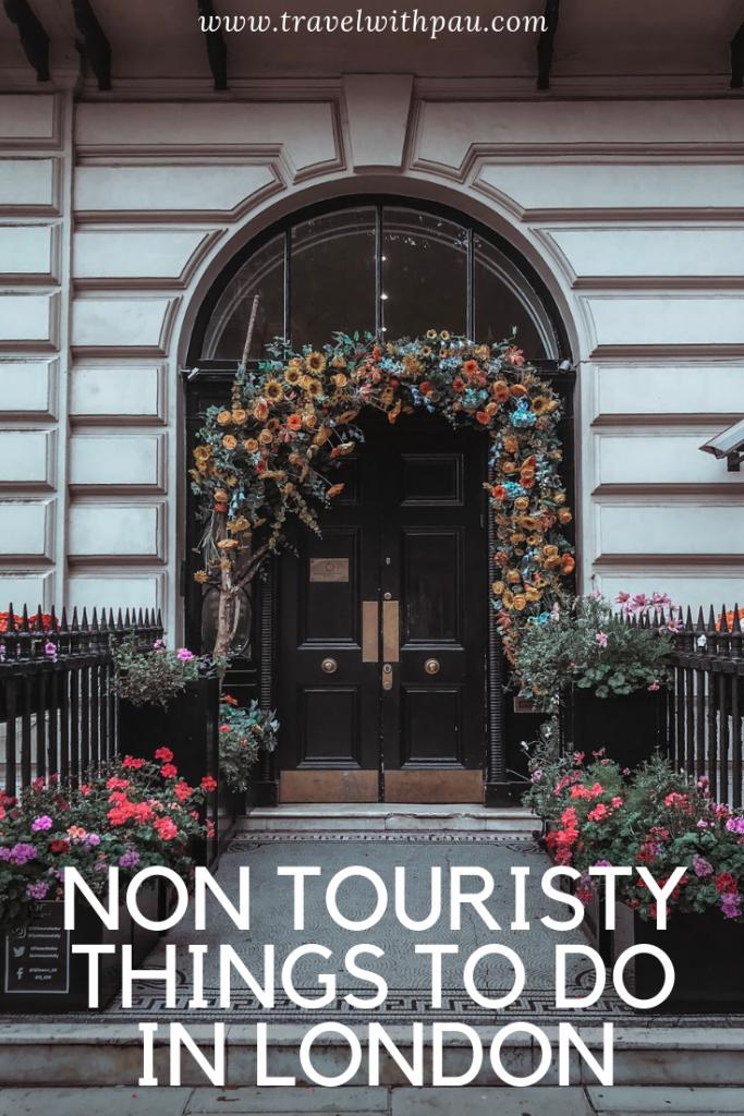 non touristy london
