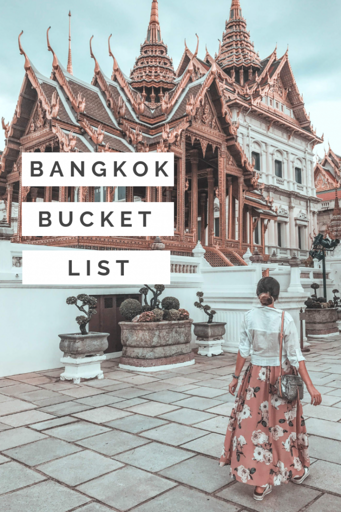 BANGKOK BUCKET LIST