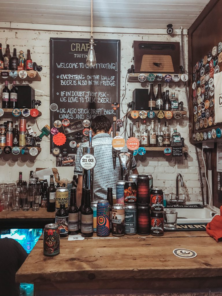 craft beer tooting