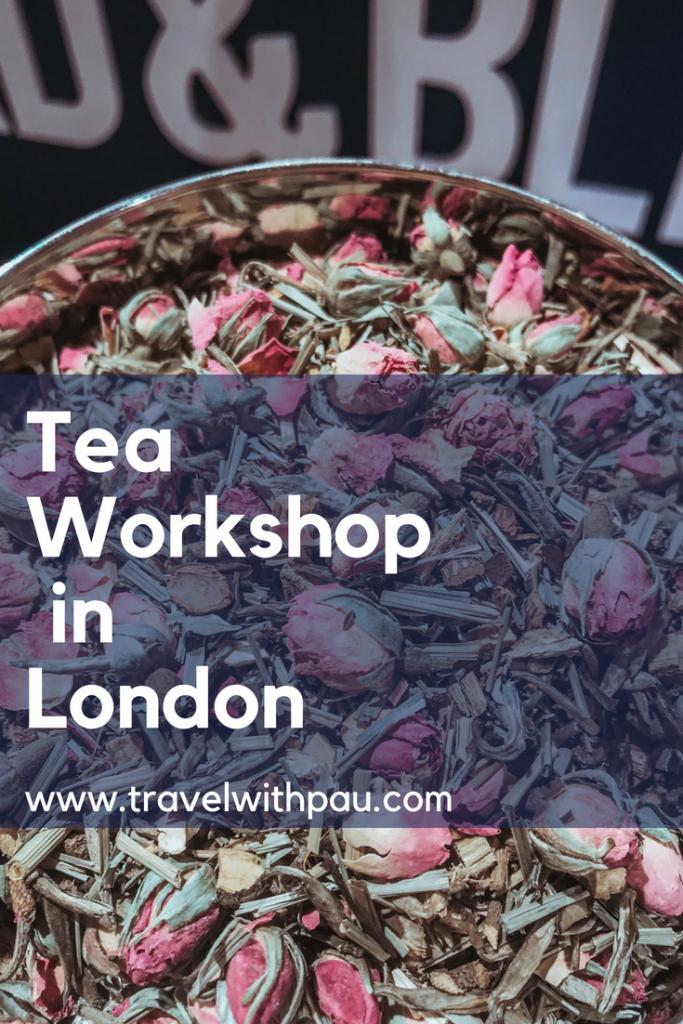 tea workshop in london