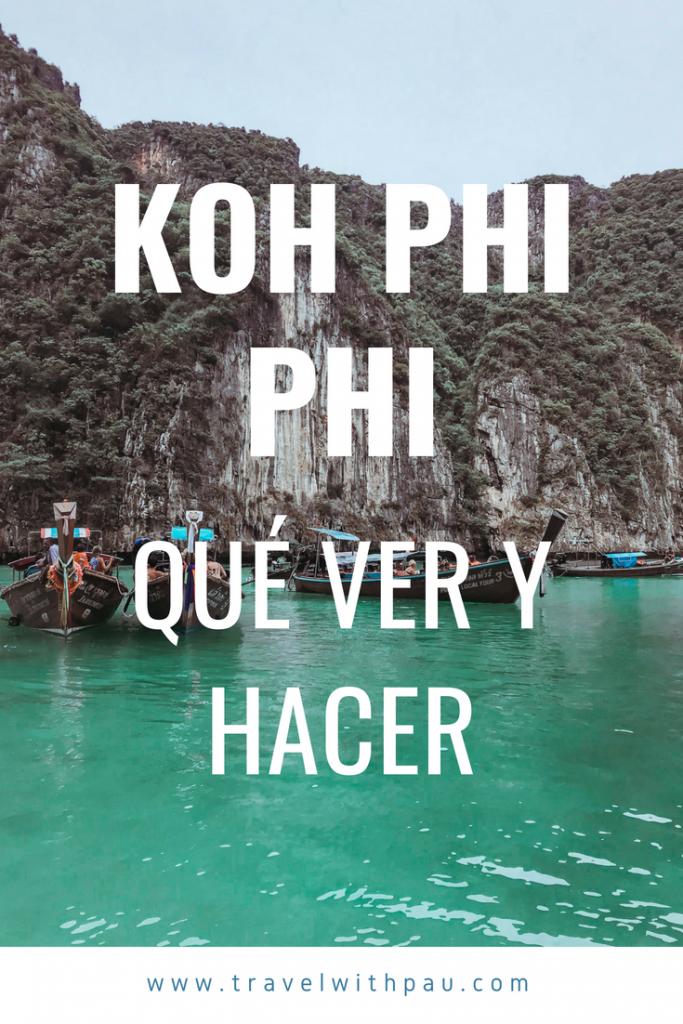 koh phi phi que ver y hacer
