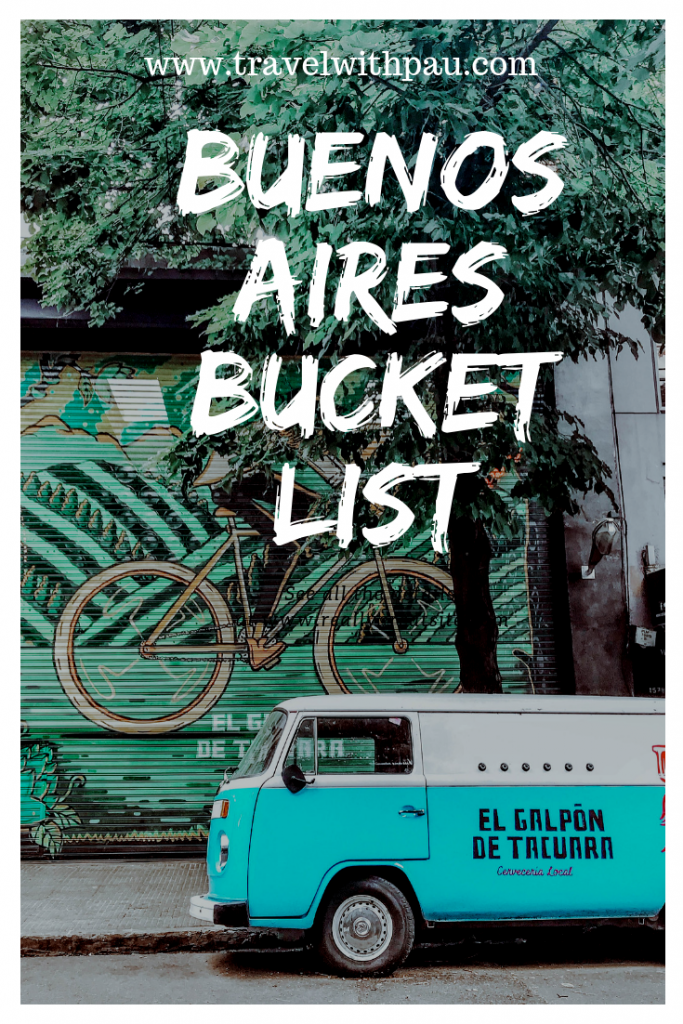 buenos aires bucket list