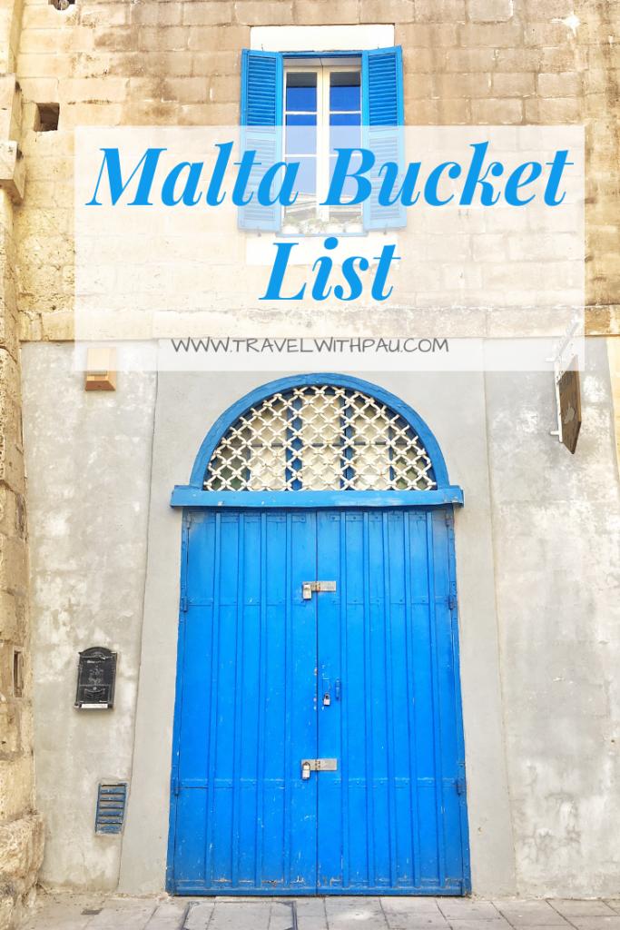 malta bucket list