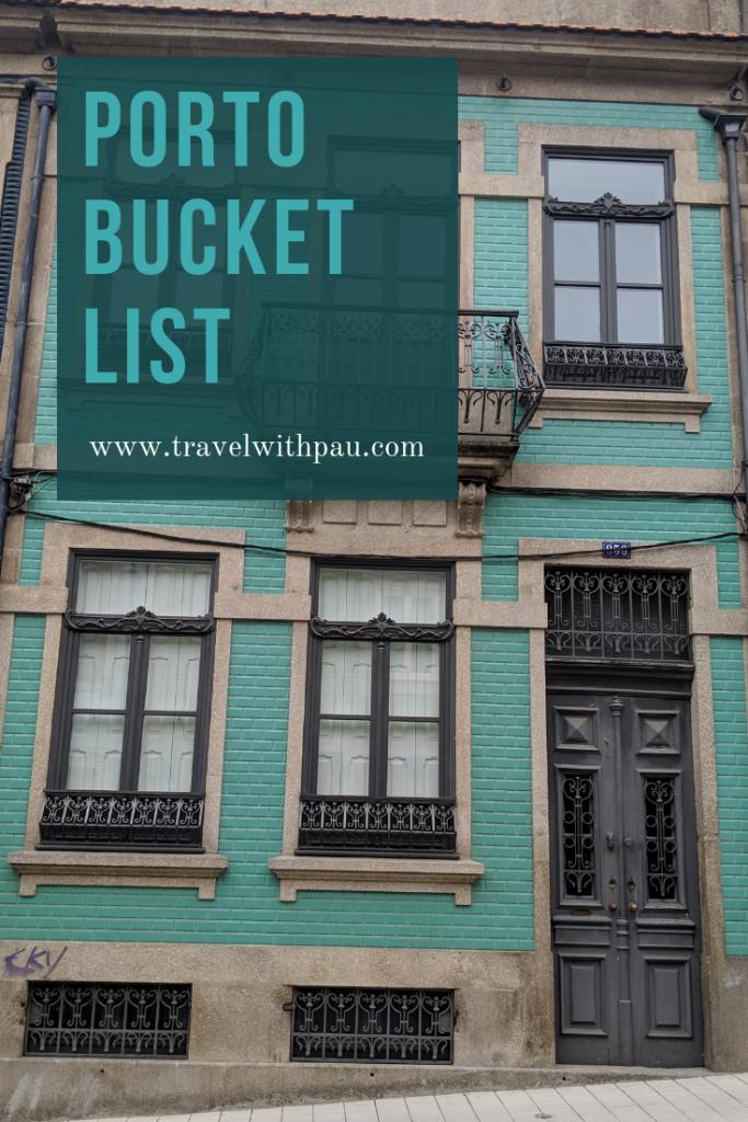 porto bucket list