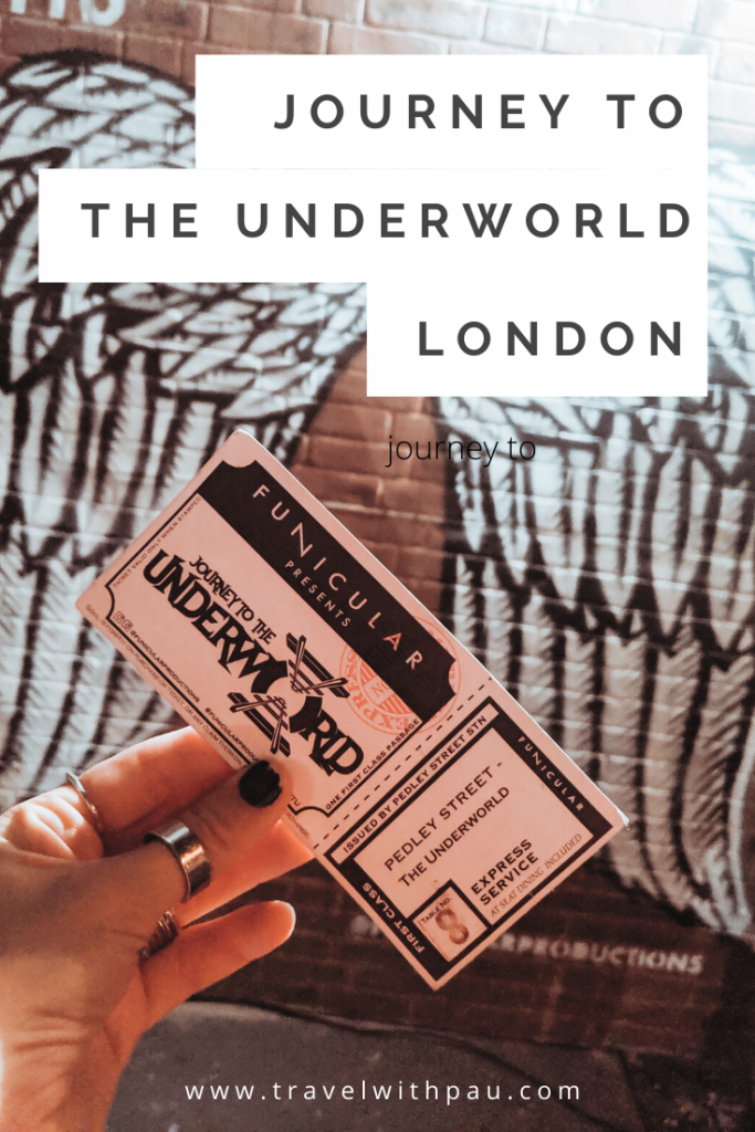 JOURNEY TO THE UNDERWORLD LONDON