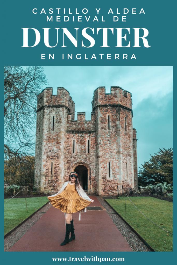 CASTILLO DE DUNSTER Y ALDEA MEDIEVAL DE DUNSTER EN INGLATERRA