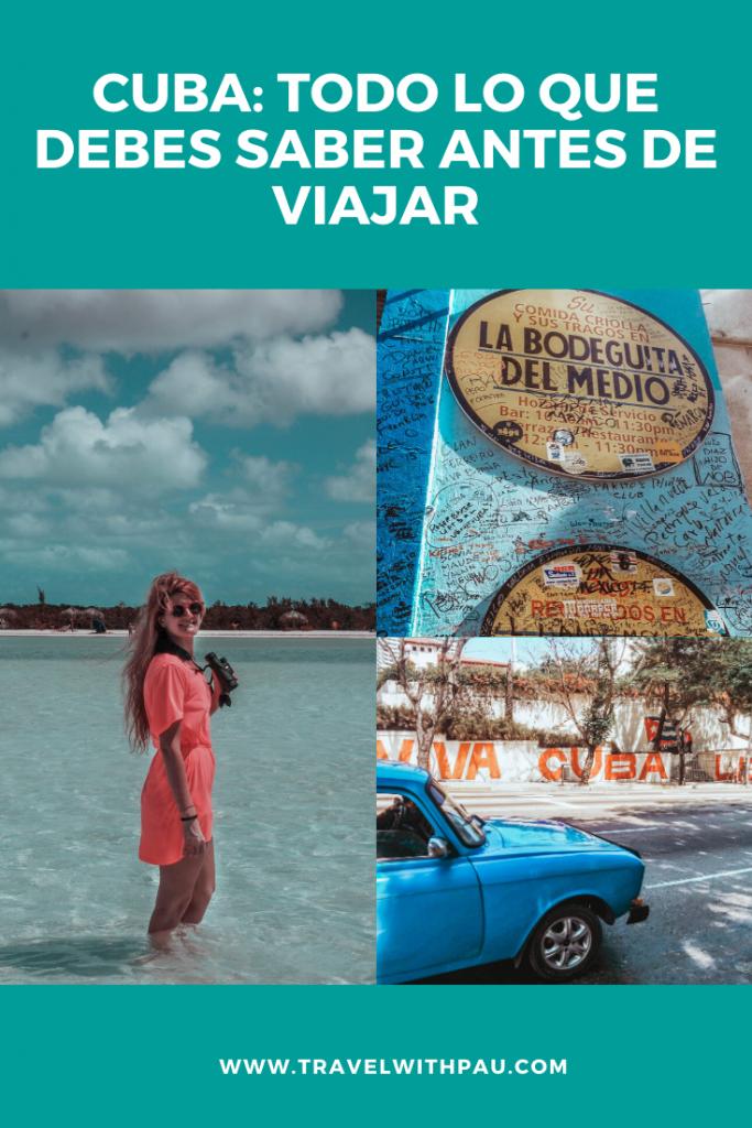CUBA: TODO LO QUE DEBES SABER ANTES DE VIAJAR