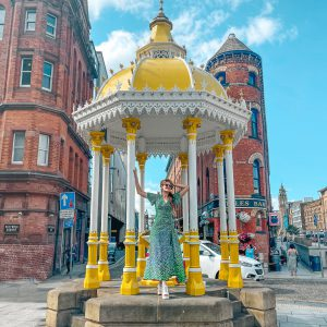 VISITING BELFAST: BUCKET LIST AND TRAVEL GUIDE JAFFA MEMORIAL FOUNTAIN